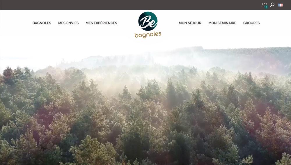 Site Web Bagnoles de l'Orne