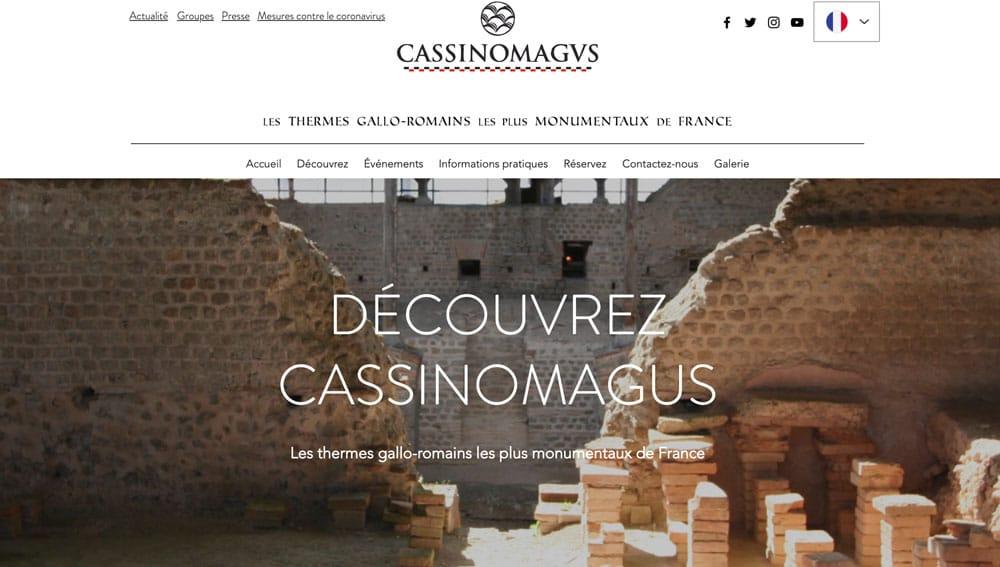 Site Web Casinomagus