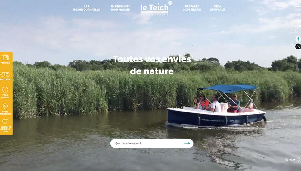 Site Web Le Teich
