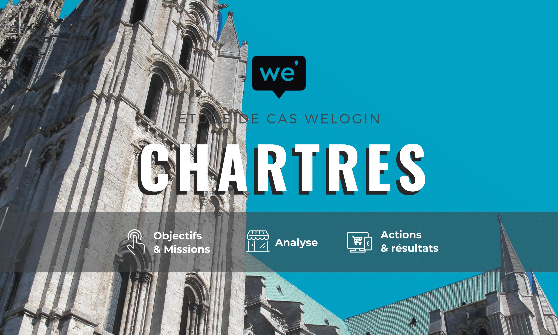 ChartresTourisme, Welogin, Tourisme, Chartres, étude de cas